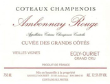 Egly-Ouriet Ambonnay Rouge 2015