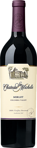 Chateau Ste. Michelle Columbia Valley Merlot 2015
