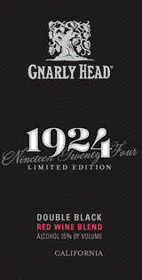 Gnarly Head 1924 Double Black Red Wine Blend