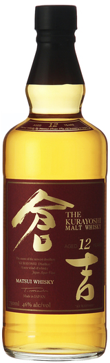 Matsui-Shuzo The Kurayoshi Pure Malt Whisky 12 year old