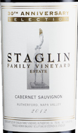 Staglin Family Vineyard 30th Anniversary Selection Cabernet Sauvignon 2012