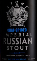 Stone Brewing Co. Chai Spiced Russian Imperial Stout 2015