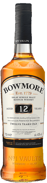 Bowmore Distillery Single Malt Scotch Whisky 12 year old