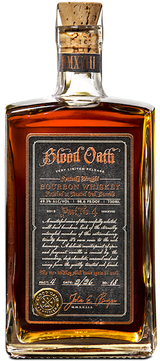Blood Oath Pact No. 4 Bourbon Whiskey 2018