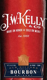 J.W. Kelly & Co. Old Milford Straight Bourbon Whiskey