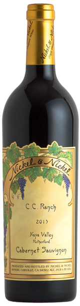 Nickel & Nickel C.C. Ranch Cabernet Sauvignon 2015