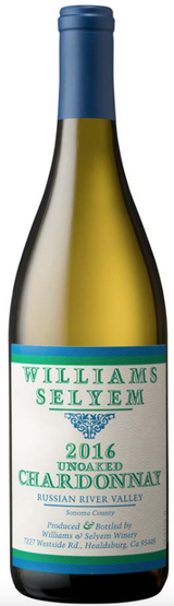 Williams Selyem Unoaked Chardonnay