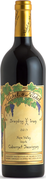 Nickel & Nickel Branding Iron Vineyard Cabernet Sauvignon 2015