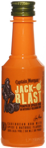 Captain Morgan Jack-O'Blast Pumpkin Spiced Rum