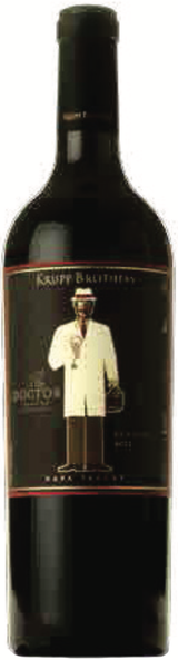 Krupp Brothers The Doctor Red Wine 2011