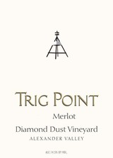 Trig Point Diamond Dust Vineyard Merlot 2015