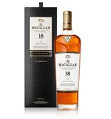 Macallan Sherry Oak Single Malt Scotch Whisky 18 year old