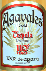 Agavales Gold Tequila 110 Proof