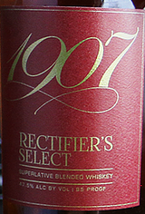 1907 Distilling Co. Rectifiers Select Superlative Blended Whiskey