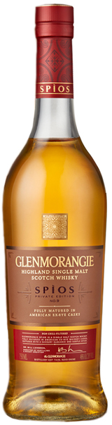 Glenmorangie Spios Ex-rye Cask Single Malt Scotch Whiskey
