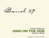 Barrel 27 High on the Hog White 2015