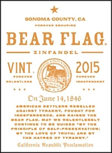 Bear Flag Zinfandel 2015