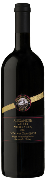 Alexander Valley Vineyards Alexander School Reserve Cabernet Sauvignon 2014