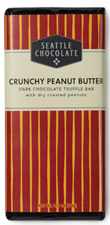 Seattle Chocolates Crunchy Peanut Butter Truffle Bar