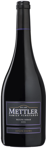 Mettler Family Vineyards Petite Sirah