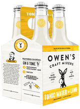 Owen's Craft Mixers Tonic Water & Lime