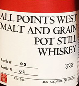 All Points West Distillery Malt and Grain Pot Still Whiskey