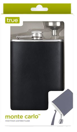 True Fabrications Faux Leather Flask Funnel 8oz