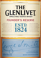 The Glenlivet Founder's Reserve Gift Pack with Bitters