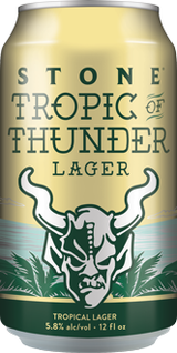Stone Brewing Co. Tropic of Thunder Lager