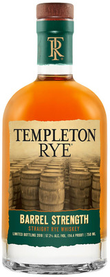 Templeton Rye Barrel Strength Straight Rye Whiskey 2018