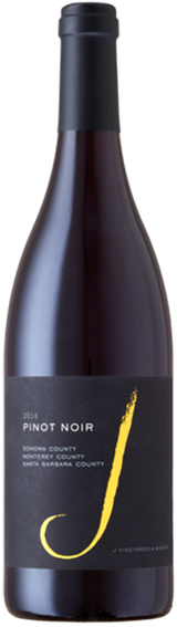 J Vineyards & Winery California Pinot Noir 2016