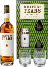 Writer's Tears Copper Pot Whiskey Gift Set with 2 Glasses