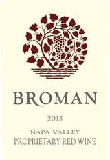 Broman Napa Valley Proprietary Red Wine 2015