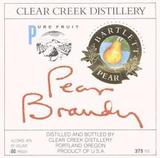 Clear Creek Distillery Pear Brandy
