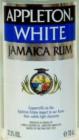 Appleton Estate White Jamaican Rum