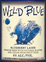 Busch Wild Blue Blueberry Lager