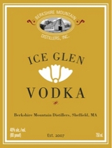 Berkshire Mountain Distillers Ice Glen Vodka