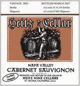 Heitz Cellar Martha's Vineyard Cabernet Sauvignon 2003