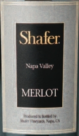 Shafer Napa Valley Merlot 2006