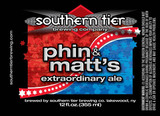 Southern Tier Brewing Company Phin & Matt's Extraordinary Ale