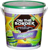 On The Border Frozen Margarita Mix in a Bucket