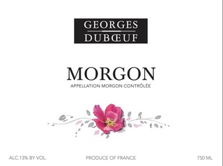 Georges Duboeuf Morgon 2014
