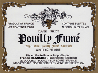 Francis Blanchet Pouilly Fume Cuvee Silice 2015