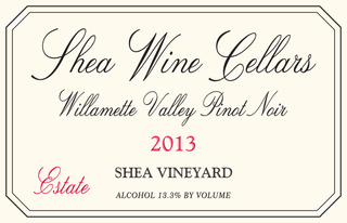 Shea Wine Cellars Shea Vineyard Estate Pinot Noir 2013