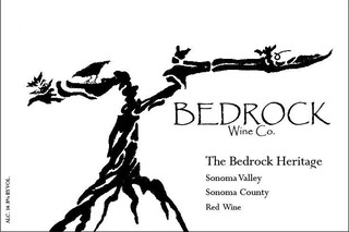 Bedrock Wine Co. The Bedrock Heritage Sonoma Red 2015