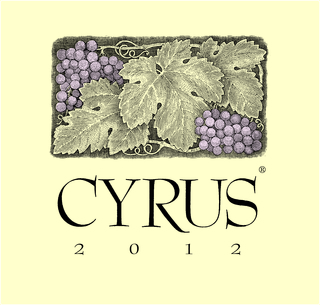 Alexander Valley Vineyards Cyrus 2012