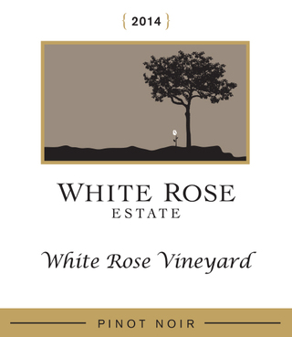 White Rose Willamette Valley Pinot Noir 2014