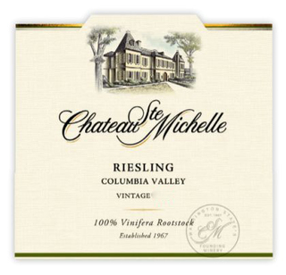 Chateau Ste. Michelle Columbia Valley Riesling 2015