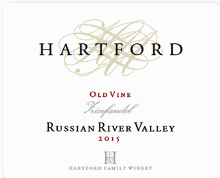 Hartford Russian River Valley Old Vine Zinfandel 2015