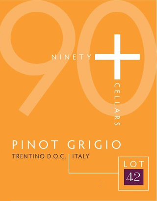 90+ Cellars Lot 42 Pinot Grigio 2016